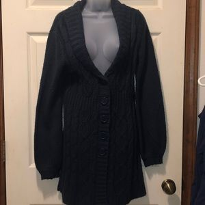 Women's Button Up Cardigan Size Med